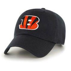 NFL Cincinnati Bengals Mass Clean Up Cap - Fan Favorite, Black