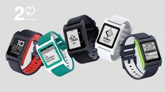 Pebble 2 + Heart Rate: Fit & Smart - YouTube