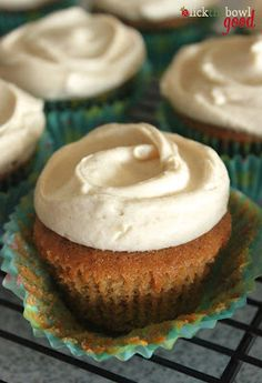 Carrot and Apple Spice Cupcakes