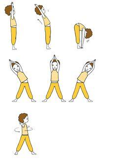 Échauffement de l'élastique Yoga enfants Exercise Activities, Sensory Activities, Activities For Kids, Yoga For Kids, Exercise For Kids, Baby Yoga, Gym Mats, Relaxing Yoga, Good Posture