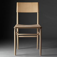 """David Ericsson """"revels in beech"""" to create Madonna Chair for Gärsnäs"""