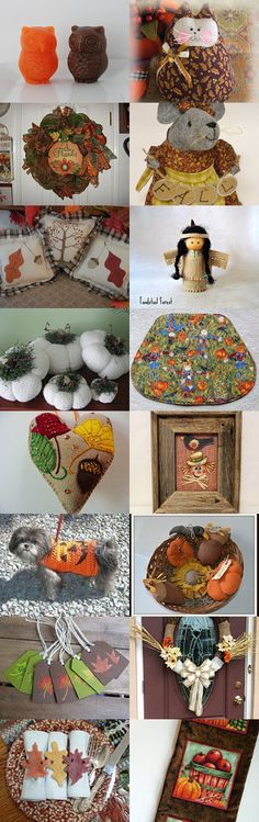 Can't ever have too much fall decor! by Michelle Boswell on Etsy--Pinned with TreasuryPin.com