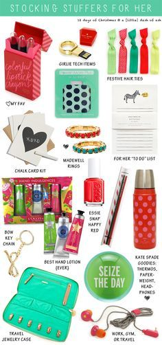 a {little} dash of ash: 1st Day of Christmas: {Stocking Stuffers for Her}