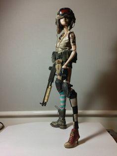 Superisland custom Tank Girl