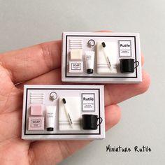 2017. 12 Miniature Bathroom Set ♡ ♡