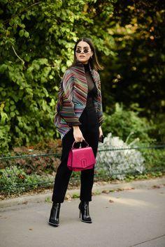 The Best Street Style From Paris Fashion Week: Spring 2018 - HarpersBAZAAR.com