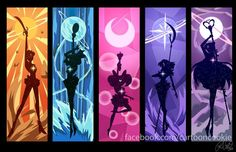 Sailor Moon Forever - Timeline