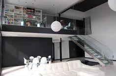 mezzanine office!