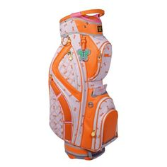 LilyBeth GOLF Cart Bag Orange Dragonfly -- Check out this great product. Note:It is Affiliate Link to Amazon.