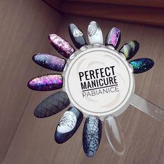 """Polubienia: 448, komentarze: 5 – Manicure hybrydowy PABIANICE (@perfectmanicure_) na Instagramie: """" #indigo #indigonails #indigonailslab #semilac #semilacnails #hybridnails #manicure #hybryda…"""""""