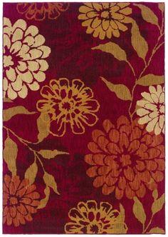 Sphinx by Oriental Weavers Infinity 1134D Red Botanical & Floral Rug