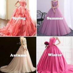 Clear Spring, Warm Spring, Soft Summer, Spring Summer, Fall Color Palette, Season Colors, Summer Colors, Personal Style, Tulle
