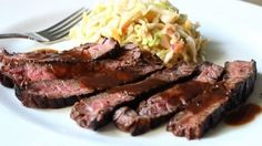 Grilled Coffee & Cola Skirt Steak Recipe - Grilled Beef Marinated in Cof... | My Sweet Tooth
