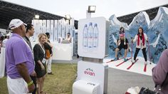 evian was official water sponsor of Taste of Abu Dhabi, the capital's outdoor food festival! #liveyoung