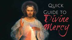 """This Sunday is Divine Mercy Sunday, and it's a doozy of a Sunday. It completes the Easter Octave and comes with an awesome promise: """"The soul that will go to Confession and receive Holy Communion shall obtain complete forgiveness of sins and punishment…. Let no soul fear to draw near Me, even though its sins …"""