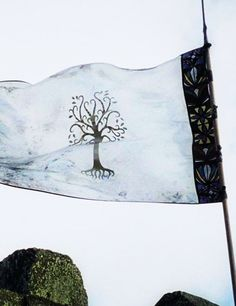 Flag from Lord of the Rings (Gondor? Aragorn, Gandalf, Legolas, Fellowship Of The Ring, Lord Of The Rings, Minas Tirith, J. R. R. Tolkien, Into The West, The Two Towers