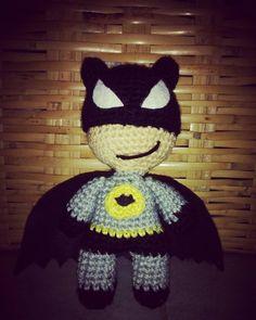 Batman!! #amigulupis #amigurumimania #amigurumis #amigurumi #addictedtocrochet #crochet #crocheting #crochetaddicted #crochetlove #ganchillo #handmade #hechoamano #hechoenmexico #instacrochet #ilovecrochet #batman by lupitavalos
