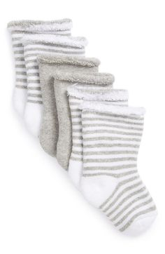 Free shipping and returns on Nordstrom Baby Crew Socks (3-Pack) (Baby) at Nordstrom.com. Chase the chill from your little one's feet with stylish socks fashioned from an ultrasoft cotton blend.