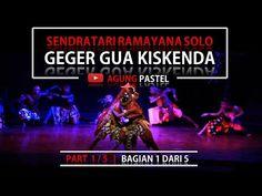 sendratari ramayana HD geger gua kiskenda 1/5 Ramayana Amazing Dance - G...