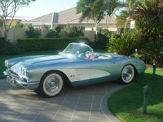 1957 Corvette Roadster, what more could one need.