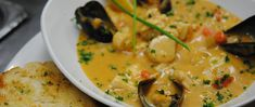 Acadian Seafood Stew Recipe | novascotia.com =  Acadian Seafood Stew Recipe - provided by: The Grand Banker, Chef Cindy Weaver