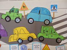 Anna idean kiertää!: Autojen vilinää
