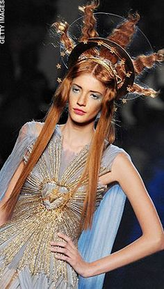 Gaultier Makes Fashion A Religious Experience. His S/S 2007 Haute Couture Collection.