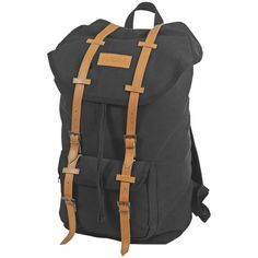 "World Famous Sales  21"" Vintage Backpack (1006-BLK) - Black"