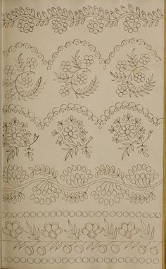 Grand Sewing Embroidery Designs At Home Ideas. Beauteous Finished Sewing Embroidery Designs At Home Ideas. Bordados Tambour, Tambour Embroidery, Hand Embroidery Patterns, Vintage Embroidery, Floral Embroidery, Embroidery Stitches, Machine Embroidery, Mexican Embroidery, Embroidery Jewelry