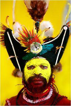Papua New Guinea Warrior. #travel