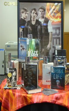 Hunger Games Display @ the Library