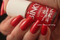 Binky London - Red #nails #nailart #nailit #nailpromote #beauty #blogger #manicure #nailsoftheday #notd #nailed #nailedit