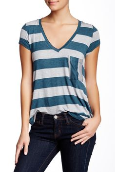 Heather By Bordeaux | Classic V-Neck Tee | Nordstrom Rack  Sponsored by Nordstrom Rack.