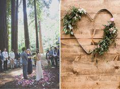 Bohemian Wedding Ceremony Styling - One Fine Day One Fine Day