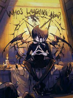 O demônio de tinta