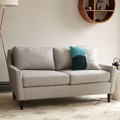 Everett Upholstered Loveseat | West Elm