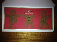 Alternative Christmas card. Not the gum drop buttons. Decapitated gingerbread men.