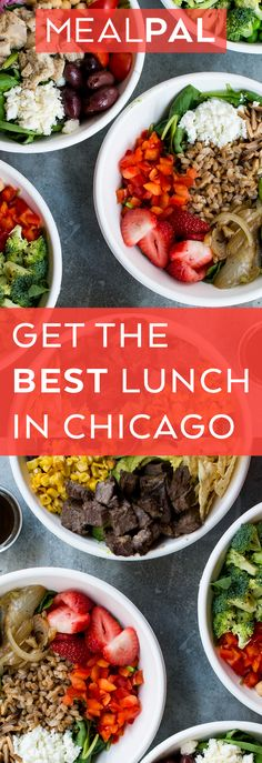 Get lunch for under $6 every day! We partner with 100+ restaurants in Chicago Loop including Protein Bar, Just Salad, Freshii, and many more. Reserve lunch daily and skip the line when you pick up. MealPal is members only - request an invite now to skip the waitlist!