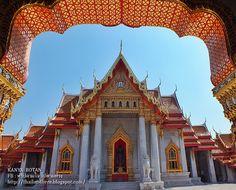 Thailand here ทริปตามใจ ไปตามทาง: วัดเบญจมบพิตร กทม. Wat Benchamabophit, marble temp...
