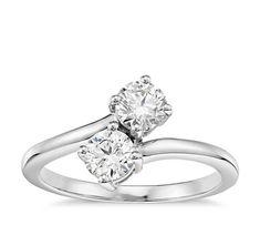 0.40Ct Anniversary Engagement Ring Two-Stone Round Diamond 14K White Gold #Chaurjewels #FullEternity #Wedding #gold #whitegold #Luxurious #diamond #diamondring #diamondjewellery #Style #jewellery #fashion #mensjewelry #mensring #Bracelets #Gift #Valentine #couturejewelry #Men #Pendant #Happy #bespokejewelry #Mood #Rose #Gold #diamondEarring #Earring #Diamond #Ring #Diamondring #Eternityring #Halfeternity #Engagement #Wedding #WWE #Ebay #IAMSRK #SHAHRUKH #KHAN #celebrity
