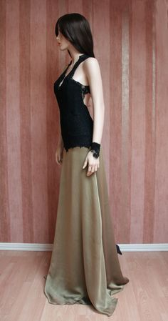 Chiffon and Lace Gown Chiffon, Spring Summer, Gowns, Couture, Lace, Skirts, Collection, Fashion, Vestidos