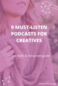 Hi friends! I'm back today with a fun post sharing my favorite podcasts. I 'discovered' podcasts a little less than a year ago and it's quickly become my go-to tool for 'aha!' inspirational moments and 'wow, I'm not alone in this!' moments of connection with fellow creatives. Bonus points: my 40-min