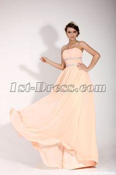 Romantic Long Sweetheart Military Prom Dress:1st-dress.com