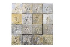 TILES - SILVERED CAST