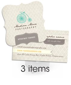 Bella Marketing Essentials Business Card Mini Bundle  |  templates designed by @Elena Wilken {EW Couture}