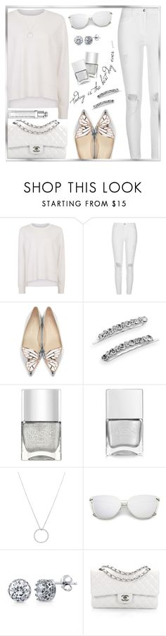 """Today's Inspiration"" by rasa-j ❤ liked on Polyvore featuring Sweaty Betty, River Island, Sophia Webster, Crystal Allure, Nails Inc., Roberto Coin, BERRICLE, Chanel and womensFashion"