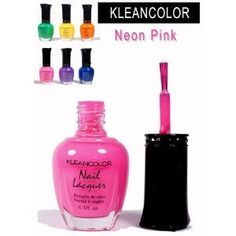 Kleancolor  Nail Polish  Neon Pink -- Click on the image for additional details.Note:It is affiliate link to Amazon.