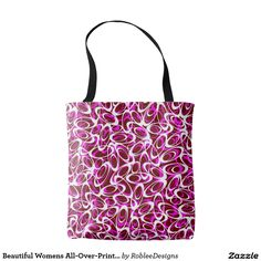 Beautiful Womens All-Over-Print Tote Bag #fashion