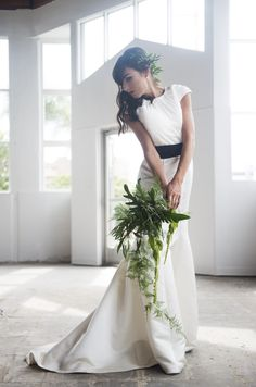 Industrial styled bridal shoot http://www.shirockphotography.com
