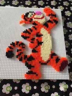Tigerdyr i hama mini